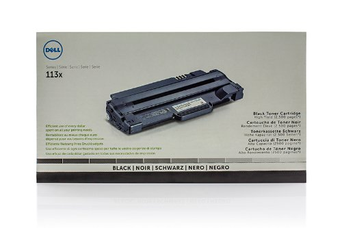 Preisvergleich Produktbild Dell 1133 - Original Dell 593-10961 / 7H53W Toner Black / 113X Series - 2500 pages
