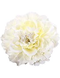 Butterme Multicolor Chiffon Fleurs Pétale Clip de cheveux Clip Bow Barrettes Accessoires Alligator Clip Girls Headwear Coiffe Flower Bow Hairclip