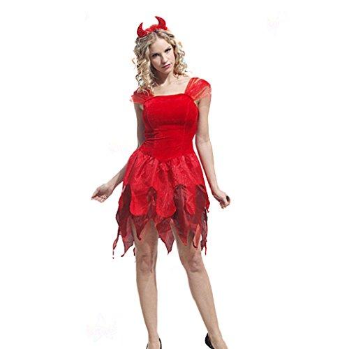Masterein Halloween Kind M?dchen Erwachsene Frauen M?nner Rot Hexe B?se Kost¨¹m Party Cosplay Kost¨¹m Familie (Customes Männer Für Halloween)