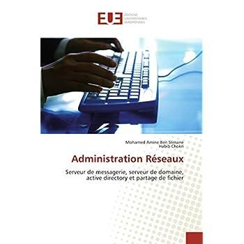 Administration Réseaux: Serveur de messagerie, serveur de domaine, active directory et partage de fichier
