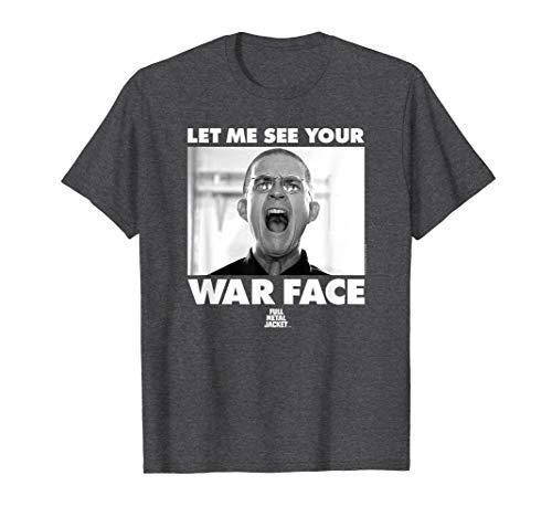 Full Metal Jacket War Face T Shirt Full Metal Jacket Shirt