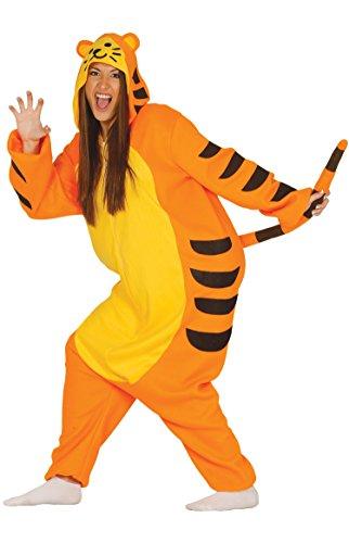 Fiestas Guirca Costume Tigre Tuta Cosplay - Wild Zebra Für Erwachsenen Tier Kostüm