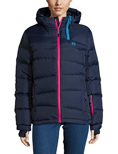 Ultrasport Professional Mila Doudoune de ski Femme, Bleu (Navy), Large