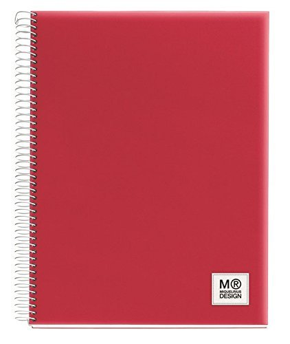 Miquelrius 8422593498644 Spiral Notebook 5 Subject