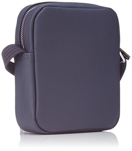 Lacoste Herren Sac Homme Access Premium Schultertasche, 17.5x4x14.5 cm Blau (Peacoat)