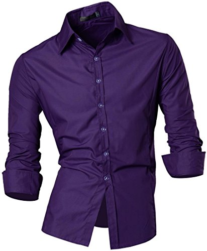 jeansian-mens-fashion-long-sleeves-shirts-casual-slim-fit-dress-tops-premium-office-z008-purple-xl
