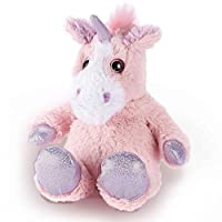 "KWH Plush 12"" Pink Unicorn Soft Lavendar Scented Microwavable Heatable Cuddly Teddy"