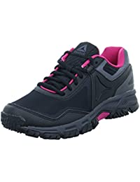 Speedlux 3.0, Zapatillas de Trail Running para Mujer, Negro (Black/Ash Grey/Acid Pink 000), 42 EU Reebok