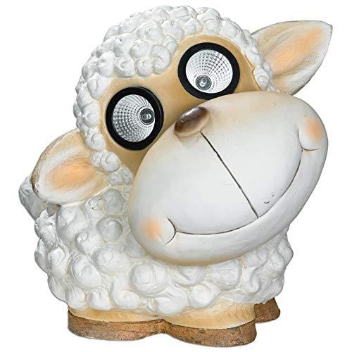ROLLER Solarleuchte Schaf - weiß - 27 cm hoch