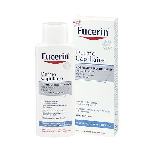 Eucerin Dermocapillaire Shampoo Lenitivo All Urea 250ml