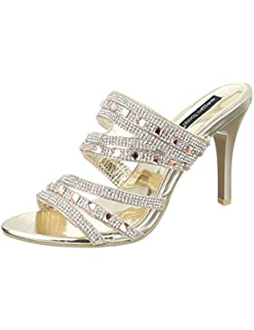 Pantoletten Damen Schuhe Jazz & Modern Pfennig-/Stilettoabsatz High Heels Ital-Design Sandalen / Sandaletten