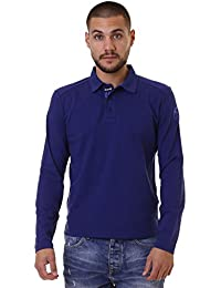 North Sails Polo Ls with red Hombre, turquesa, XXL