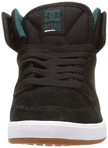 DC Shoes Nyjah High Se, Sneakers Hautes femme Noir (Black)