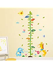 Solimo Wall Sticker for Kid's Room (Family Height Calling, Ideal Size on Wall - 125 cm x 175 cm)
