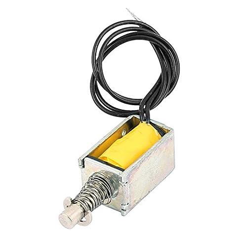 sourcingmap® HTO-0420L3V06 DC 3V 0.5A Actionneur Type Traction électro-aimant solénoïde électrique
