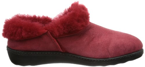 Romika Romilastic 102, Chaussons femme Rouge - Rot (hibiscus 450)