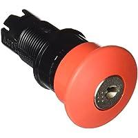 Schneider ZB6AS934 Frontelem, rund Pilzdrucktaster Not-Halt/Not-Aus durchmesser 16, Schlüsselentrieg, Rot