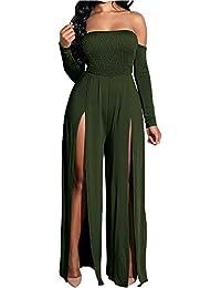 Amazon.fr   Vert - Combinaisons et combishorts   Femme   Vêtements e1b487450c5