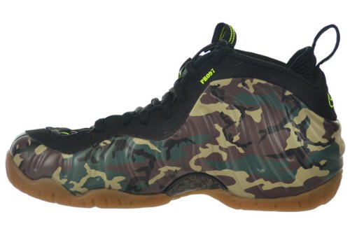 "Air Foamposite Pro Prm Le ""Camo"" Chaussures de basket-Forêt forest/black"
