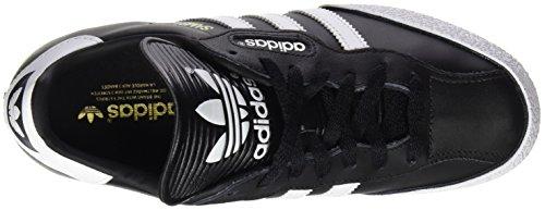 adidas Samba Super, Chaussures de Sport Garçon Noir (Black/Running White Ftw)