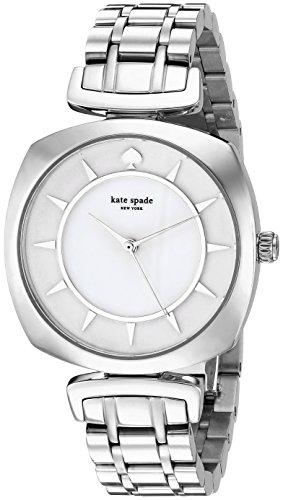 Kate Spade donna Barrow KSW1228argento in acciaio inossidabile al quarzo moda orologio