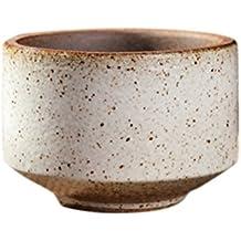 remeehi Mini Candy Farbe kleine runde Blumentöpfe Keramik Macarons Rainbow Blumentöpfe weiß