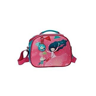 Gorjuss Under My Umbrella Neceser de Viaje, 4.75 litros, Color Rosa