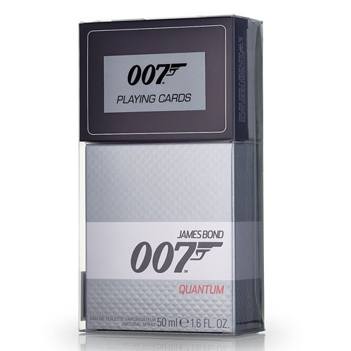 James Bond Quantum EDT 50 ml + Spielkarten (man)
