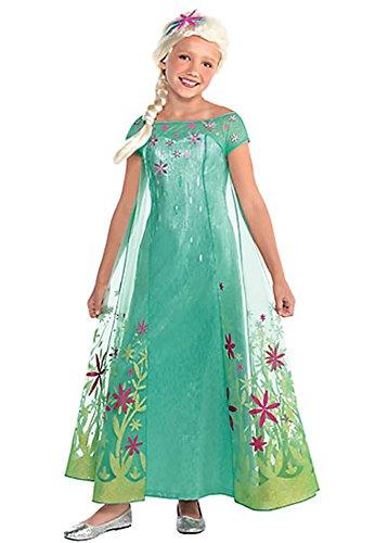 Disney Deluxe Elsa Kostüm Frozen - Traum Disney Frozen ELSA Deluxe Kleid vom Film Fever Gr. 140/152