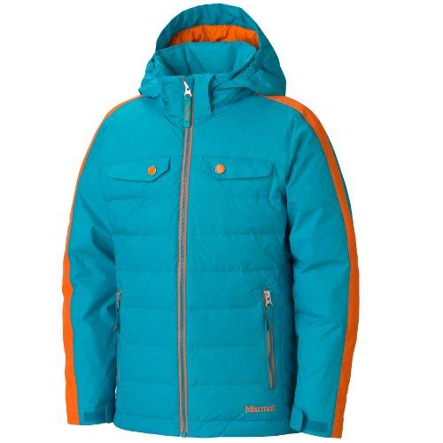 Marmot Girls Zermatt Jacket sea glass/orange spice