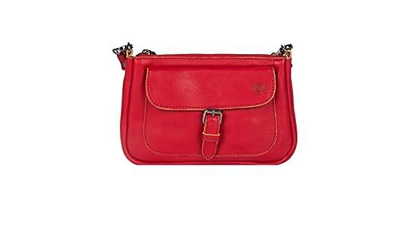 ee77d8808e SALVADOR BACHILLER Bag Shoulder Bag - Brooke SBL016 - Red  Amazon.co.uk   Shoes   Bags