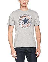Converse Homme Noyau Chuck Taylor Patch T-Shirt, Gris