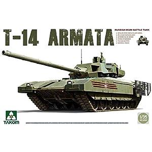 TAKOM TAK-2029 - Kit Modelo Rusa Tanque de Batalla Principal T-14, Gris