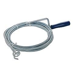 Idea Regalo - Silverline 870883 Sonda spirale per pulizia tubi 5m