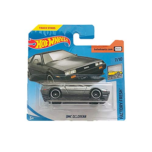 Hot Wheels DMC Delorean Factory Fresh 270/365