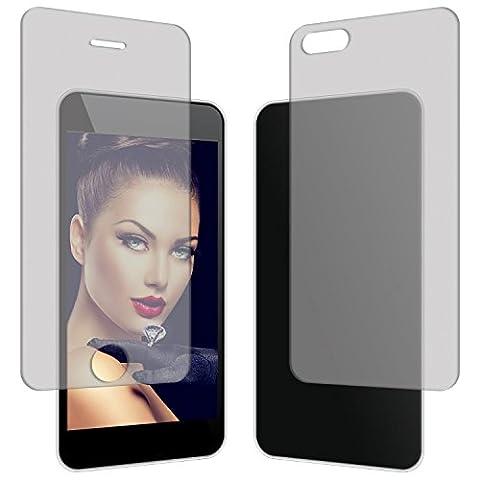 CABLING® Protecteur d'écran recto verso pour Apple iPhone 5, iphone