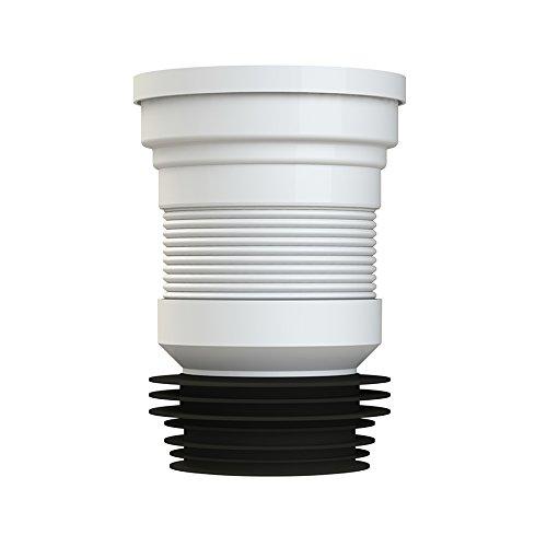 JDS Hardware Viva Mini Slinky-Fit Flessibile WC Pan Connector 200mm-350mm Idraulici di