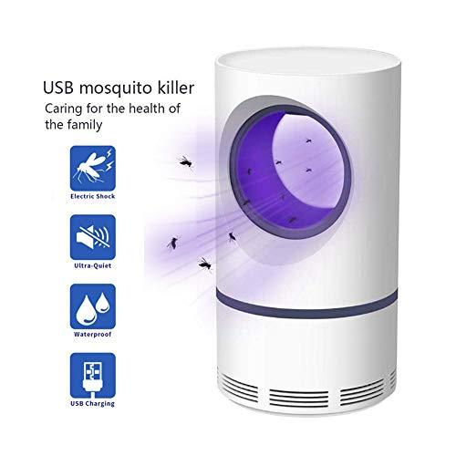 HANF USB Photocatalyst Mosquito-Mörder-Lampe, sicheres und ungiftiges photokatalytisches UV-LED-Licht, Hauptküche-Schlafzimmer-Tischplattenaußenzelt-Lichter - Zu Hause Boden Puffer