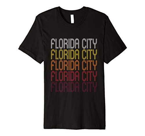 Florida City, FL   Vintage Style Florida T-shirt