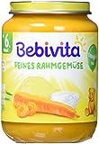 Bebivita Feines Rahmgemüse, 6er Pack (6 x 190 g)