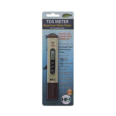 HM Digital TDS-4TM Aquarium TDS Meter mit digitalem Thermometer
