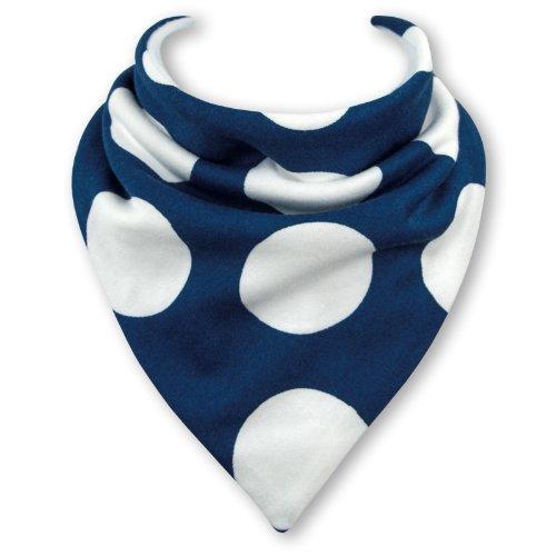Baby Lätzchen GIANT BLUE DOTS durch Babble Kids (Jersey Giants Baby)