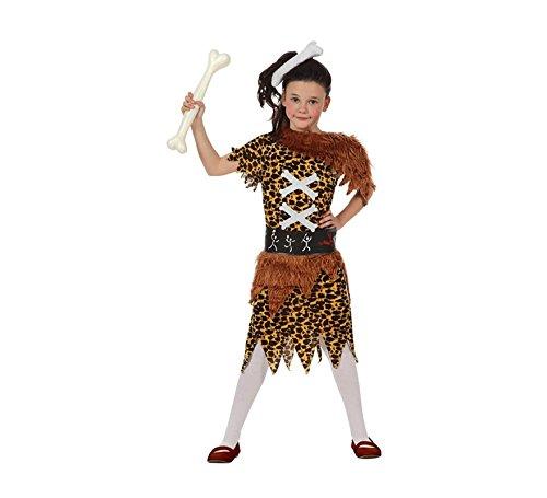 ATOSA 10683-Kostüm-Mädchen-Der Höhlen-Größe - Höhle Mädchen Kostüm