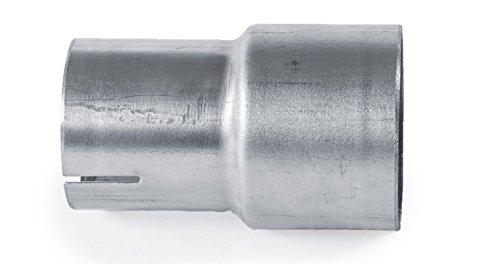 Adaptador de escape unidades Grupo A 63,3mm exterior reductores de 51mm interior Acero inoxidable