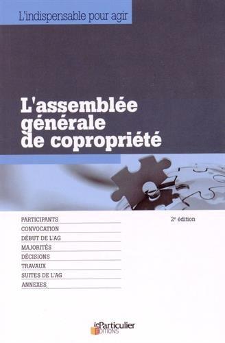 L'assemblée générale de copropriété