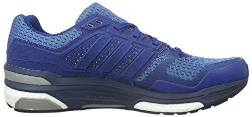 adidas Supernova Sequence Boost 8 Laufschuhe, Chaussures de Running Entrainement Homme Bleu (Eqt Blau/Mineral Blau/Schwarz/Weiß)