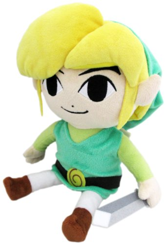Cute Mario Kostüm Bros - Little Buddy The Legend of Zelda The Wind Waker 20,3 cm HD Link Plüsch