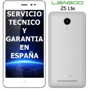 Leagoo Z5 Smartphone Lte 4G White 5-Inch (12.7 cm) Screen 854 x 480 pixels mtk6735 1.0GHz Quad Core 1GB RAM + 8GB ROM 2.0MP back Camera 5.0MP Front Camera 4 Megapixel (SW 6.0 Android