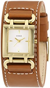 Reloj Guess W0153L2 de cuarzo para mujer con correa de piel, color marrón de Guess