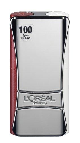 L\'Oréal Paris Indefectible Kompakt-Lippen-Duo Lippenstift, 100 Spice for days